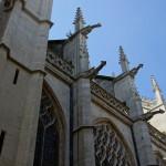 Details der Kathedralenfassade