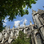 Fassadendetails von Saint-Ouen