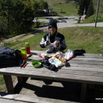 Picknick am Col du Brabant