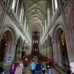 Kathedrale von Bayeux, hier hing lange Zeit die berühmte Stickerei