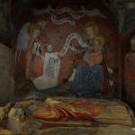 Auch in der Krypta von Bayeux
