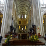 Altarraum der Kathedrale von Bayeux