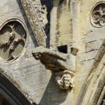 Fassadendetail der Kathedrale