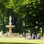 Rollos Holde als Statue im Park de Gaulle