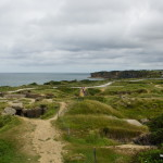 Kraterlandschaft am Pointe du Hoc