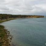 Pointe du Hoc, Blick nach Westen