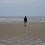 Am Strand von Cabourg
