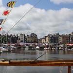 Hafenbecken noch mal in Schönwetter