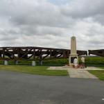 Teile der Verbindungsbrücken als Denkmal