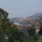 Aussicht von der Unterkunft über Collioure