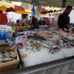 Immer wieder schön: Fische auf dem Markt