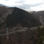 Eisenbahnbrücke im Conflent.