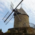 Windbetriebene Ölmühle