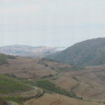Panorama mit Collioure und Port-Vendres