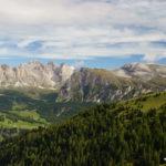 Geislerspitzen, Mont Stevia und Col de la Pieres