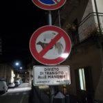 Keine Viechereien auf der Hauptstraße!
