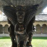 Detail einer Säule in Sant'Orso