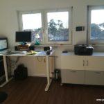 Neue Arbeitszimmereinrichtung