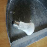 Geplatzte Lampe