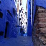 Die Häuser, die blauen, von Chefchaouen