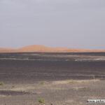 Flirrende erste Dünen
