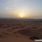 Sonnenuntergang im Erg Chebbi