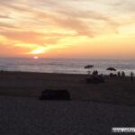 Abendlicher Strandkitsch