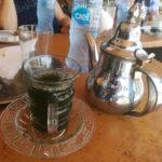 Der Minz(sirup)tee