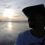 Sonnenuntergangsselfie