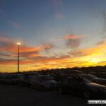 Letzter Sonnenuntergang in Marokko