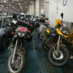 Noch ein Gruppenbild der Motorräder